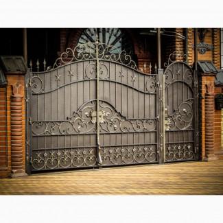 Автонавесы, козырьки, заборы, решетки, ворота, калитки. Навесы Металлические. Ворота