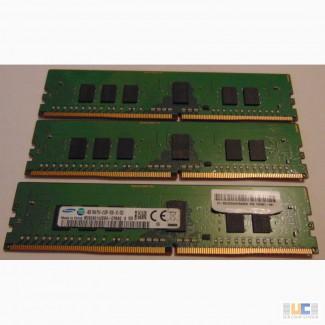Серверная память для компьютера Samsung DDR4 4Gb