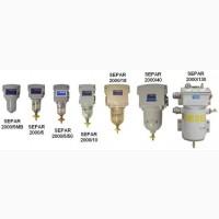 Сменные фильтрующие элементы к фильтрам SEPAR 2000