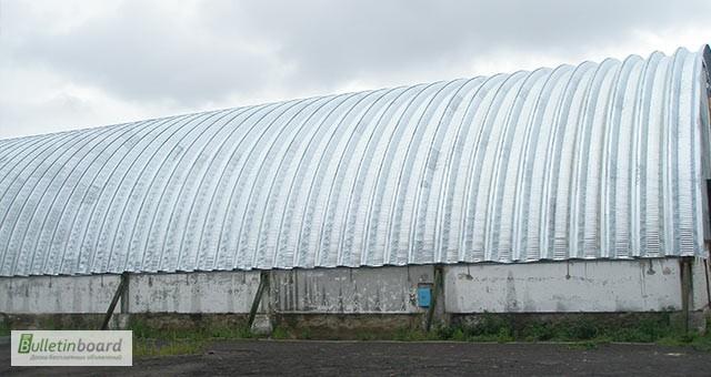 Фото 3. Монтаж и производство бескаркасных ангаров, хранилищ и складов