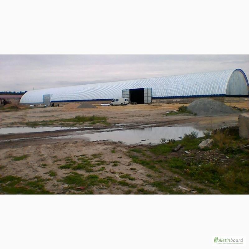 Фото 9. Монтаж и производство бескаркасных ангаров, хранилищ и складов