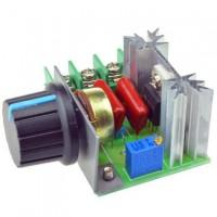 Регулятор напряжения, мощности, диммер 220В 2000Вт