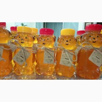 Баночка пластиковая пищевая Медвежонок 230-340 мл. с крышкой