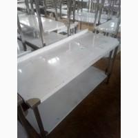 Стол производственный новый из нержавеющей стали
