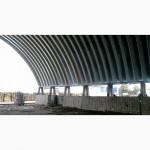 Строительство арочных бескаркасных ангаров