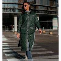 Куртка женская, цвет Темно-Зеленый