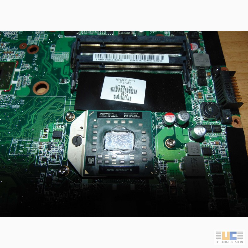 Фото 4. Материнская плата ноутбука HP Pavilion dv6-1220sl + 320 (2, 1Ghz)