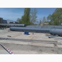 Ствол металлической самонесущей дымовой трубы представляет собой полый цилиндр