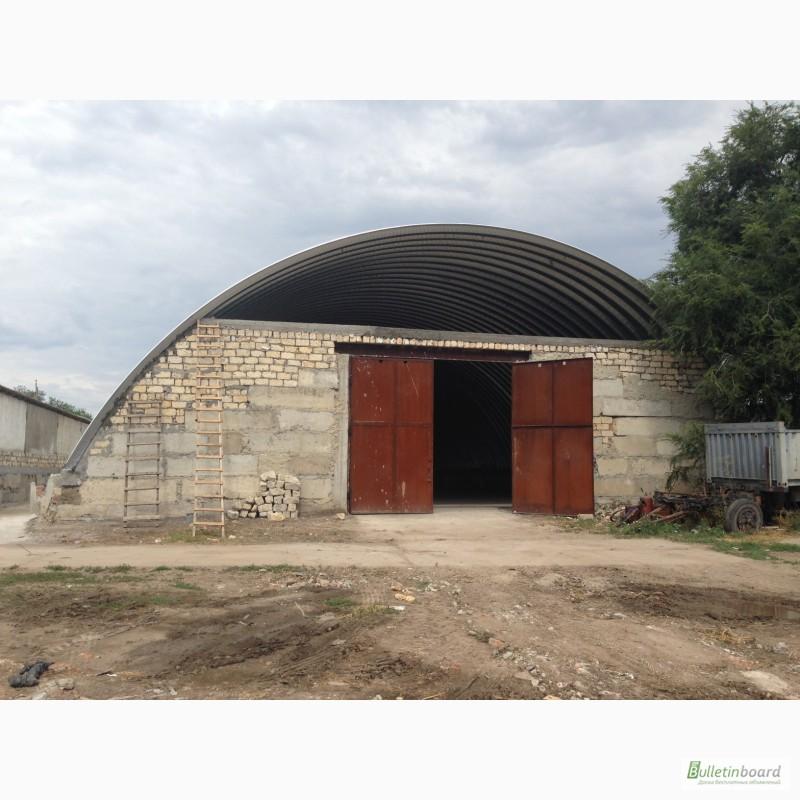 Фото 10. Бескаркасные арочные ангары, напольные зернохранилища, склады