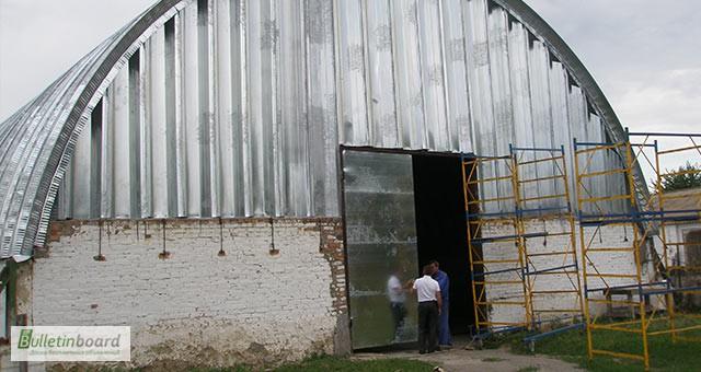 Фото 13. Бескаркасные арочные ангары, напольные зернохранилища, склады