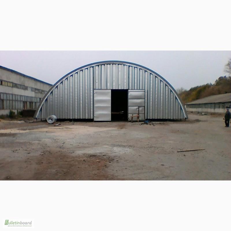 Фото 18. Бескаркасные арочные ангары, напольные зернохранилища, склады