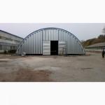 Бескаркасные арочные ангары, напольные зернохранилища, склады