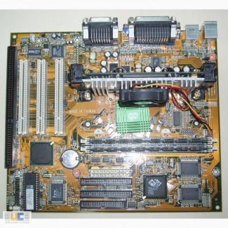 Продам набор M/B Chaintech 6ESV0 + Celeron 333 MHz + RAM 64 MB