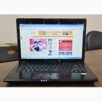 Игровой 4-х ядерный ноутбук Lenovo G460