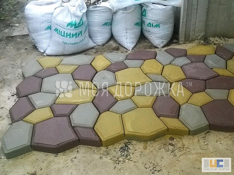 Как сварить форму для тротуарной плитки
