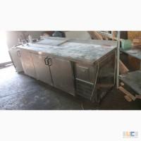 Трехдверный холодильный стол бу