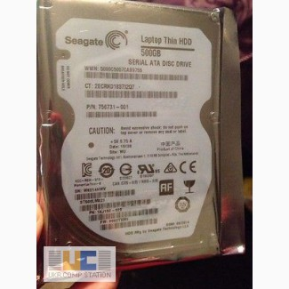 Жесткий диск HDD SATA 500GB для ноутбука