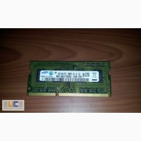 Память DDRIII 2GB от ноутбука Lenovo G560