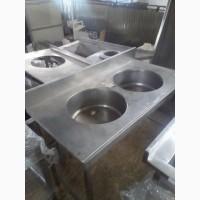 Продам производственную мойку б/у из нержавеющей стали
