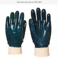 Прочные перчатки из ПВХ, МБС