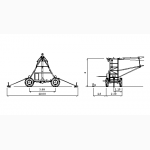 Дождевальная машина ПИВО, компании Otech Linear 4RM1