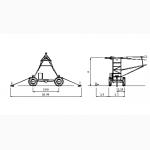 Дождевальная консольная машина Otech Linear 4RM1-2