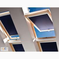 Рулонные шторы, тканевые ролеты на мансардные окна