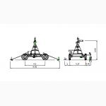 Дождевальная консольная машина Otech Linear 4RMVE