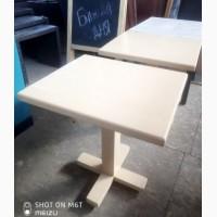 Столы б/у деревянные бежевого цвета в отличном состоянии