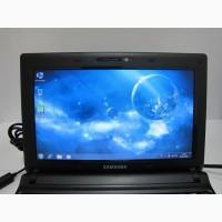 Нетбук Samsung N150 черного цвета(батарея 4 часа)
