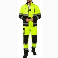 Костюм рабочий для дорожных служб Сигнал , лимонный