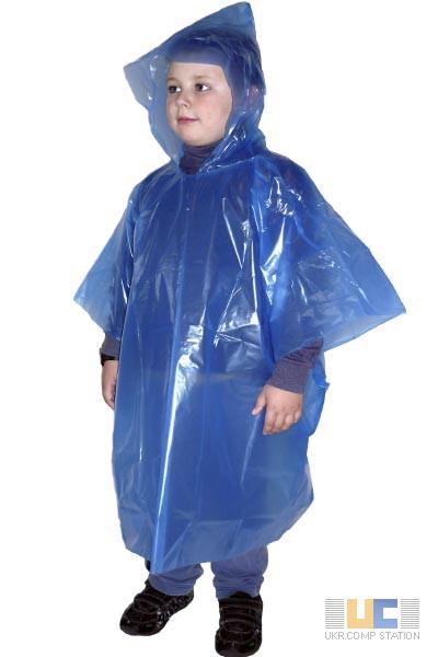 Фото 4. Детские полиэтиленовые дождевики плащи, пончо, оптом