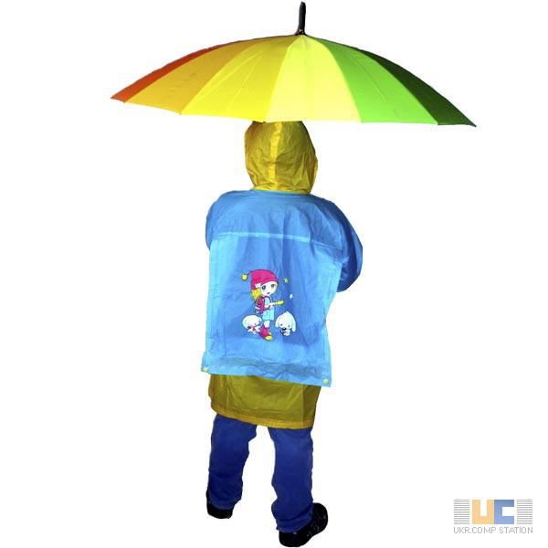 Фото 2. Виниловые детские дождевики плотные