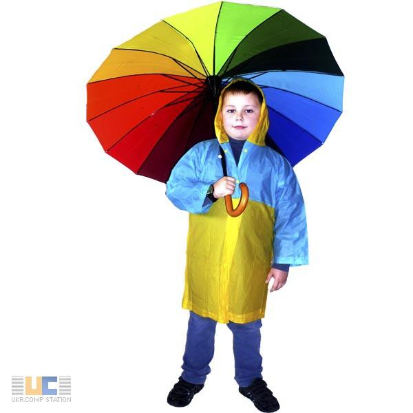 Фото 3. Виниловые детские дождевики плотные
