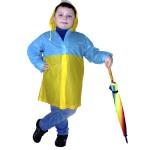 Виниловые детские дождевики плотные