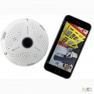 IP видеокамера с углом обзора 360
