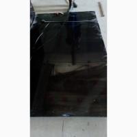 Черный испанский мрамор в слябах с белыми прожилками