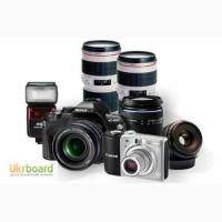 Купим, выкупим, скупка, фотоаппарат, объектив, фотовспышку в Харькове