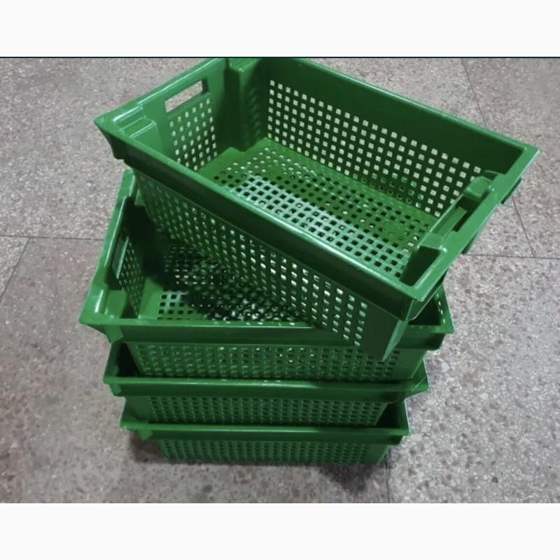 Фото 10. Пищевые хозяйственные пластиковые ящики для мяса молока рыбы ягод в Запорожье купить