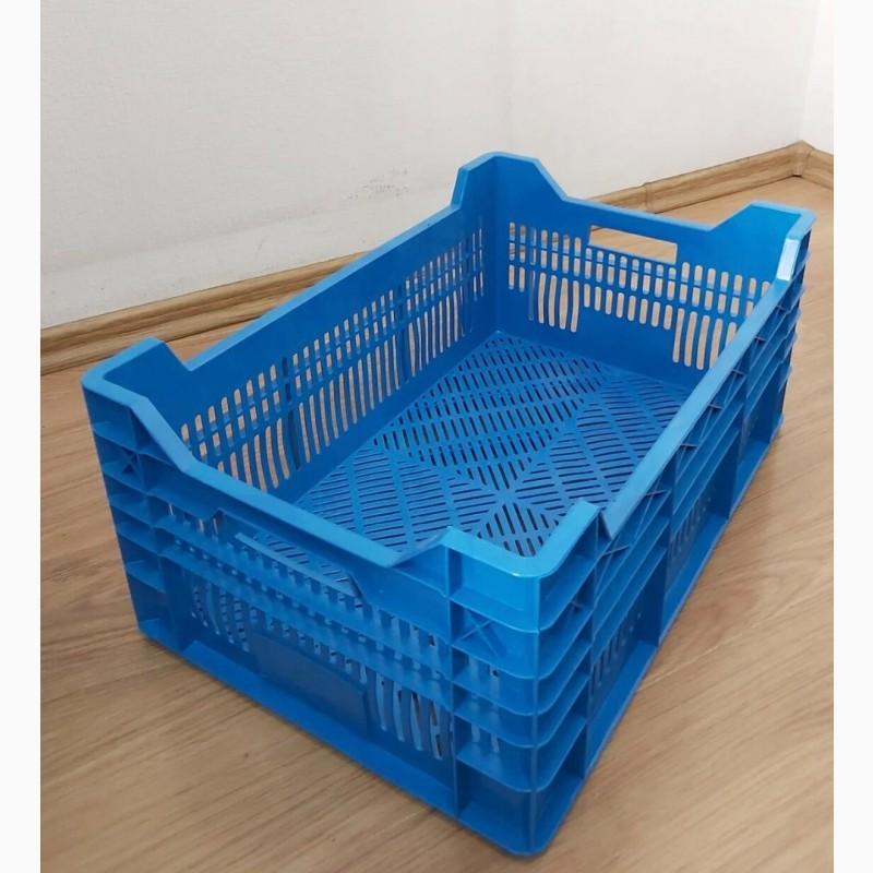 Фото 11. Пищевые хозяйственные пластиковые ящики для мяса молока рыбы ягод в Запорожье купить