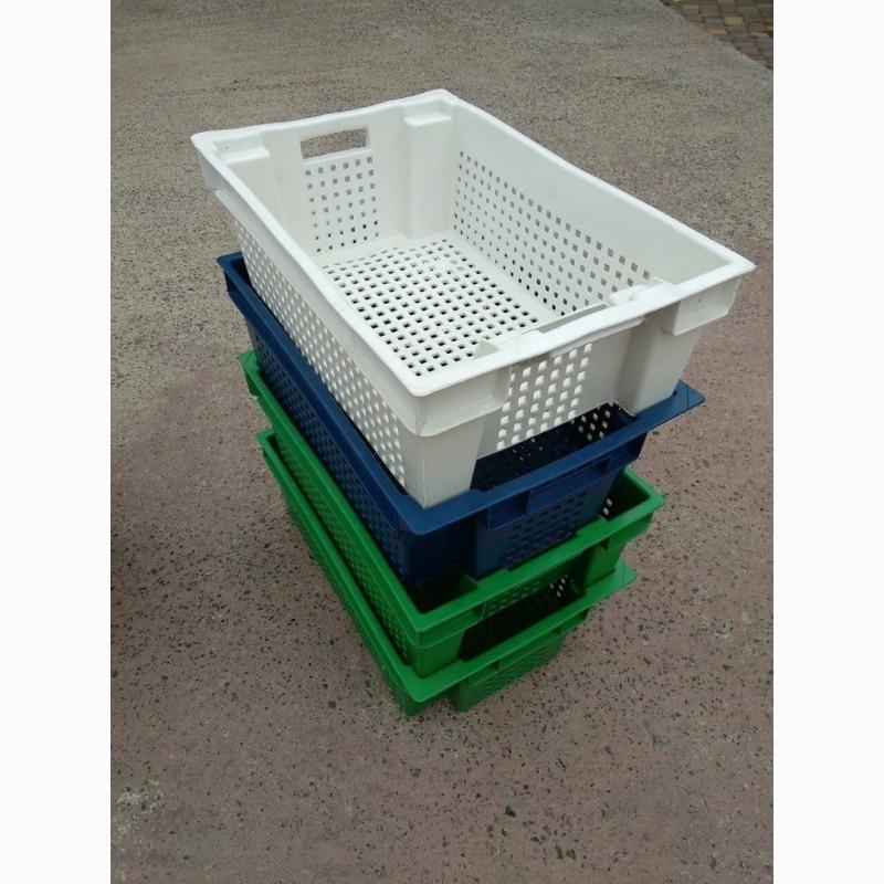Фото 3. Пищевые хозяйственные пластиковые ящики для мяса молока рыбы ягод в Запорожье купить