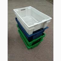 Пищевые хозяйственные пластиковые ящики для мяса молока рыбы ягод в Запорожье купить