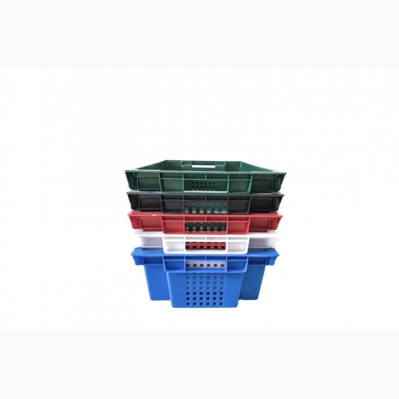 Фото 4. Пищевые хозяйственные пластиковые ящики для мяса молока рыбы ягод в Запорожье купить