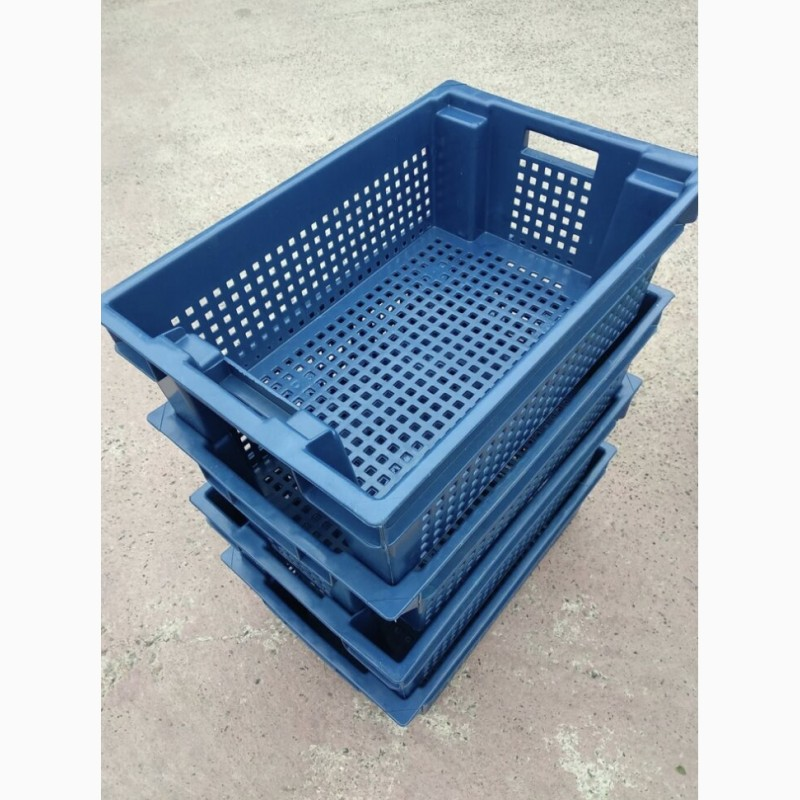 Фото 7. Пищевые хозяйственные пластиковые ящики для мяса молока рыбы ягод в Запорожье купить