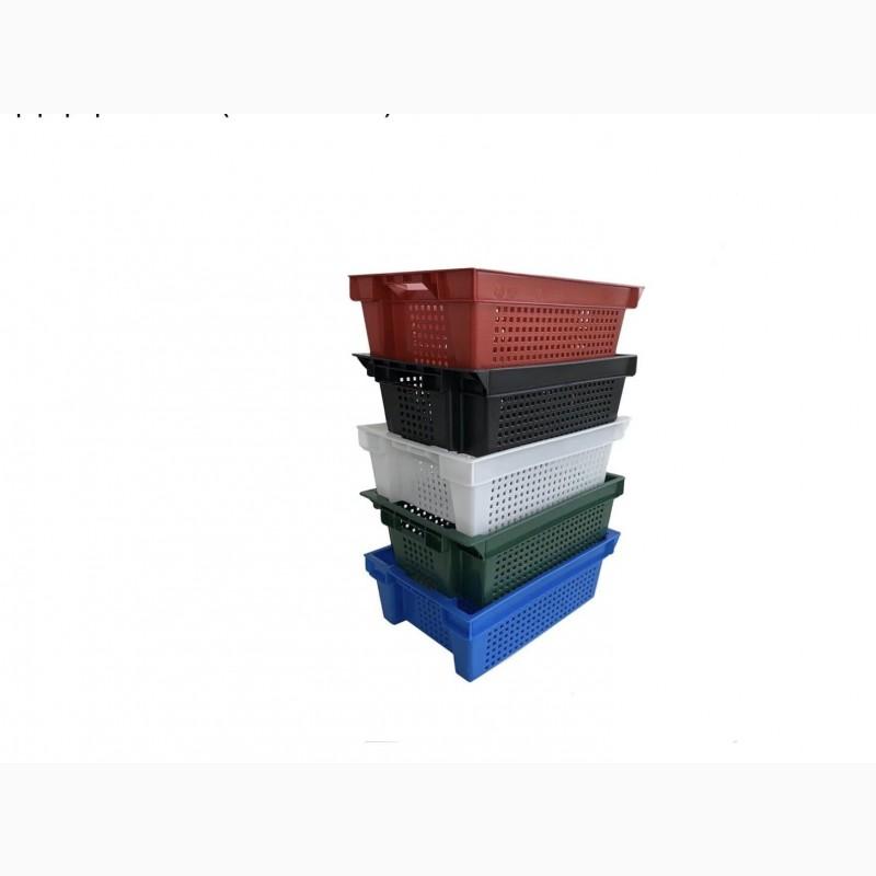 Фото 8. Пищевые хозяйственные пластиковые ящики для мяса молока рыбы ягод в Запорожье купить