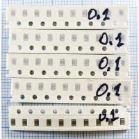 Конденсаторы SMD 0805 50 вольт (89 номиналов) 10 шт. по цене 0.5 Грн. 1000 шт. по 0.2 Грн