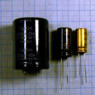 Конденсаторы low esr 105 градусов электролитические вертикальные для материнских плат