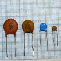 Конденсаторы на 50 вольт (75 номиналов) 10 шт. по 0.5 Грн. 1000 шт. по 0.2 Грн