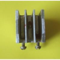 Радиатор охлаждения светодиода, транзистора 25х22х25 (мм.)