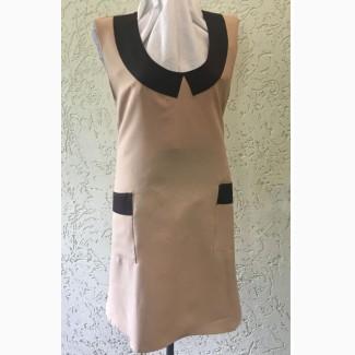 Фартук-платье двойной М75